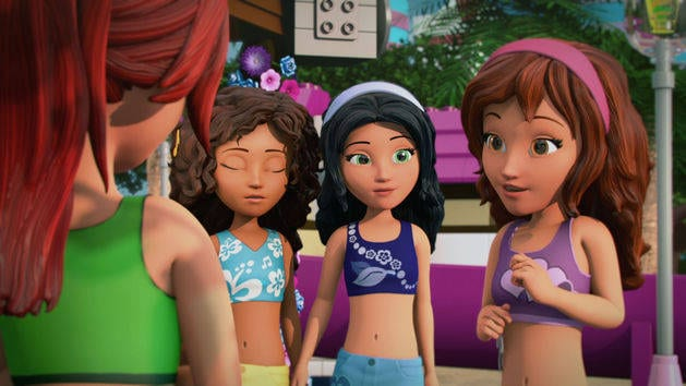 Stephanie's Surprise Party - LEGO Friends | Disney Video