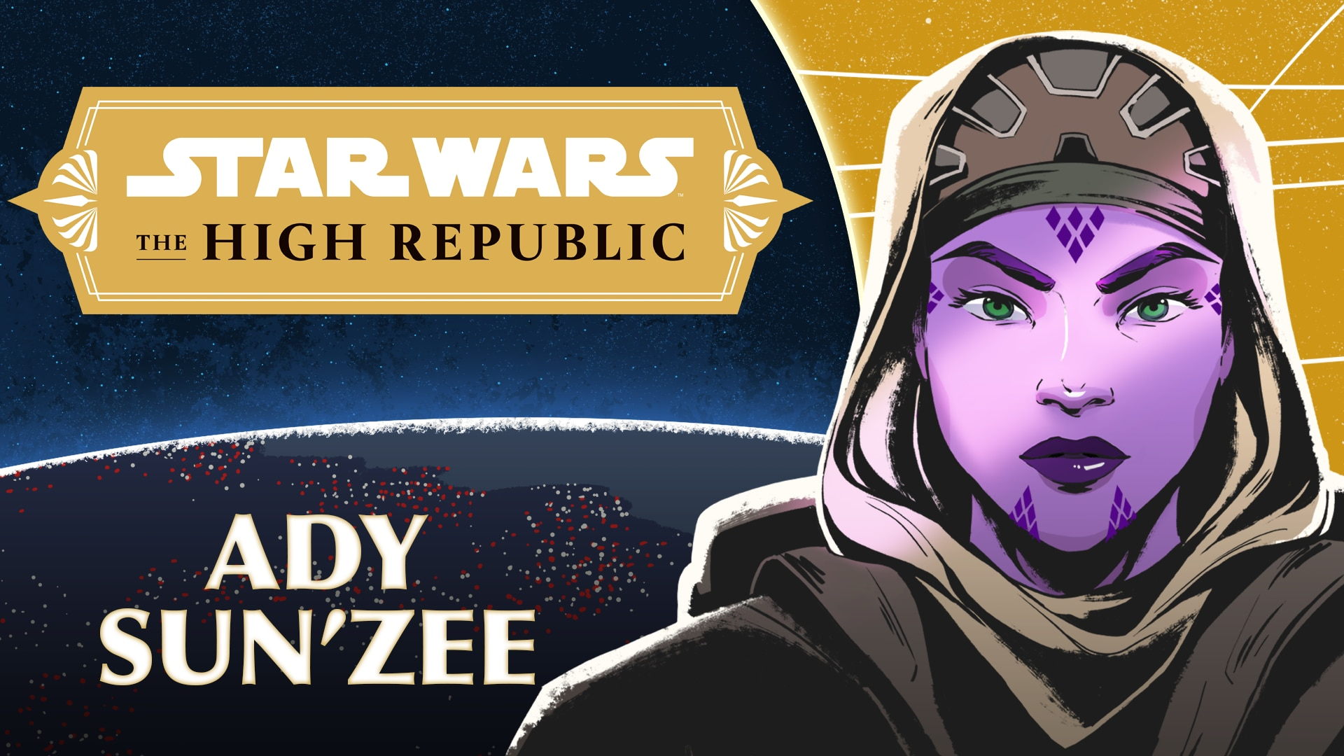 Ady Sun'Zee | Characters of Star Wars: The High Republic