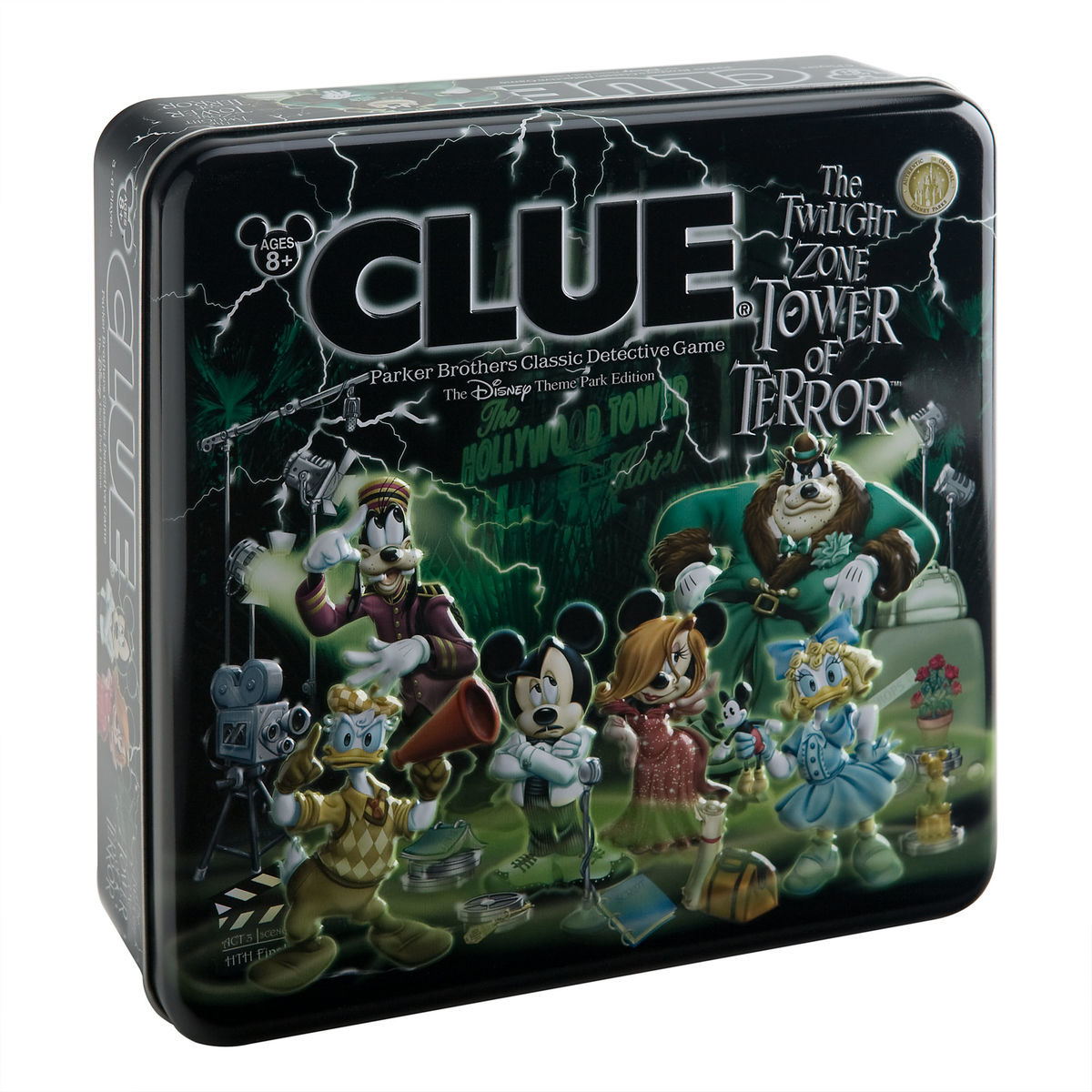 Clue The Twilight Zone Tower Of Terror Disney Theme Park Edition