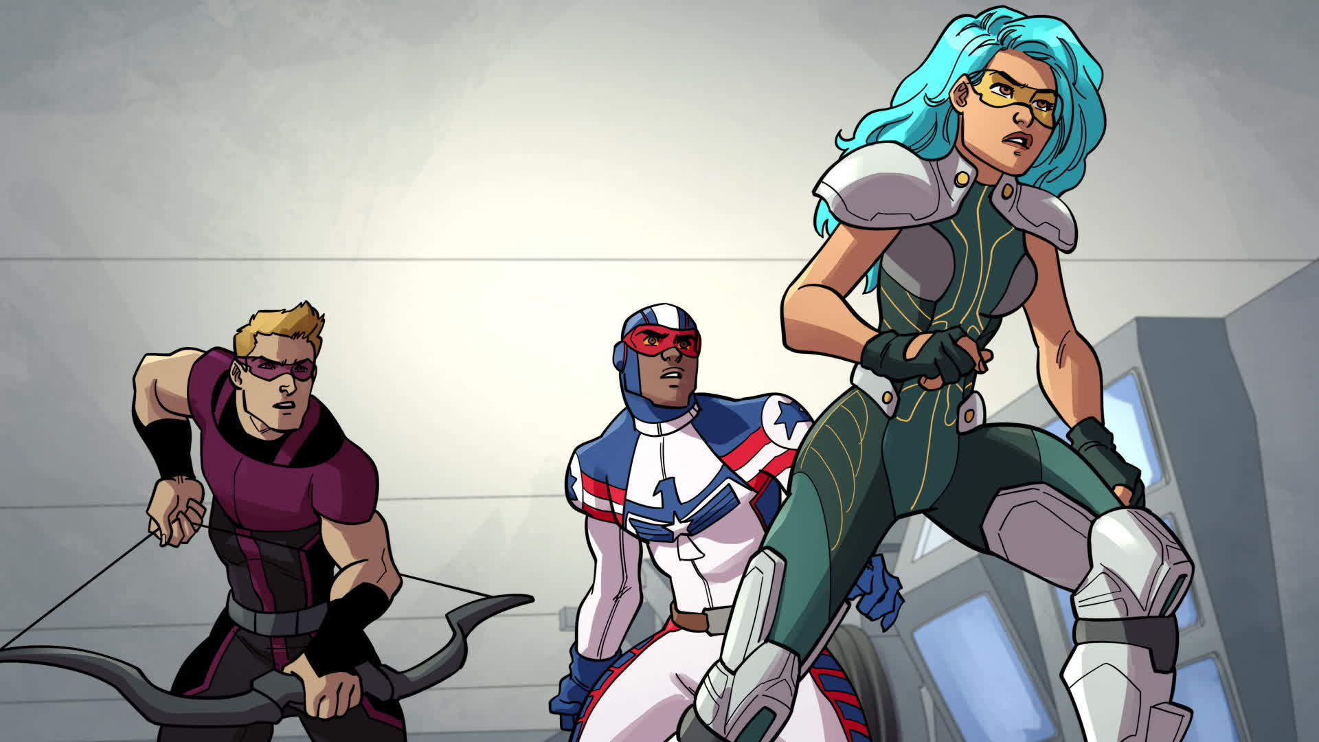 Marvel Rising: Patriot, Part 2