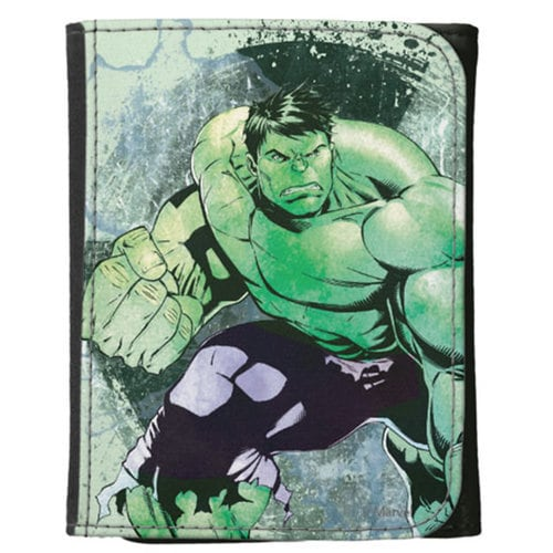 Hulk Canvas Wallet for Kids - Customizable