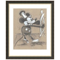 Mickey Mouse ''Steamboat Willie'' Giclée by Eric Robison