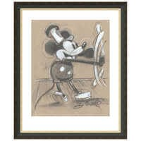 Image of Mickey Mouse ''Steamboat Willie'' Giclée by Eric Robison # 3