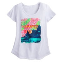 Disney Moana Fashion Tee for Women by Neff - White