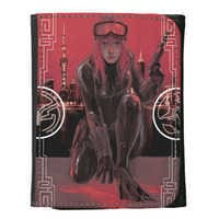 Image of Black Widow Leather Wallet - Customizable # 1