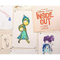 Image of The Art of PIXAR Inside Out Book # 1