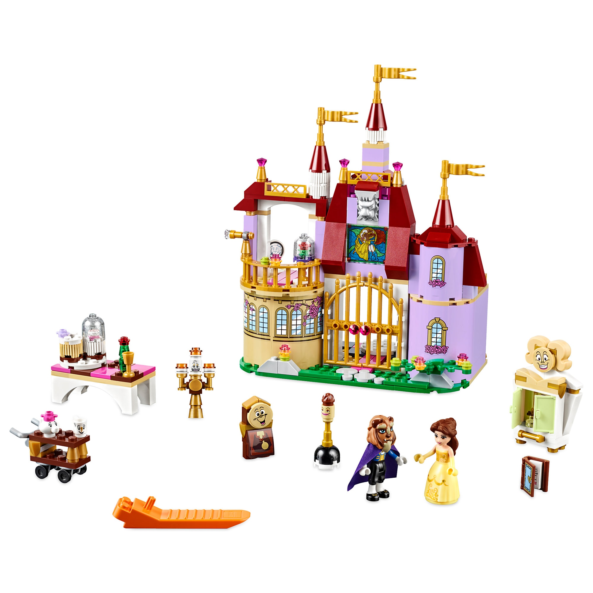 Belle's Enchanted Castle Playset by LEGO