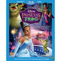 Image of The Princess and the Frog - 2-Disc Combo Pack # 1