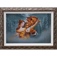 Image of Beauty and the Beast ''Evening Waltz'' Giclée by Noah # 2