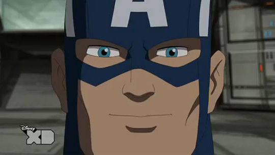 Ultimate Spider-man - Captain America