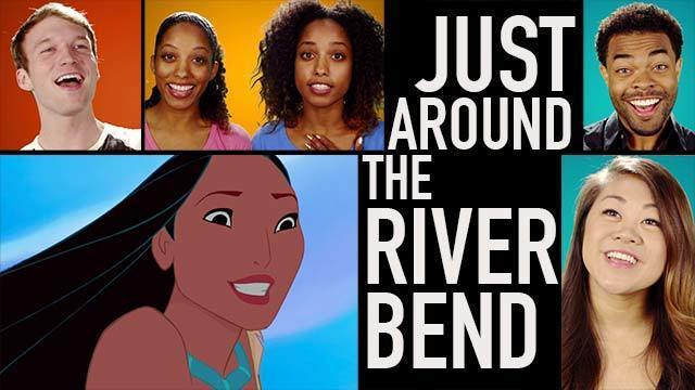 Just Around the Riverbend | Pocahontas Lyric Video