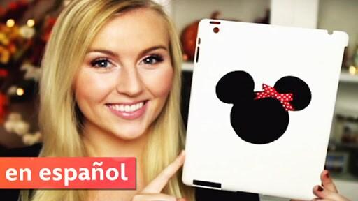 Crea tu propio estuche de Minnie (DIY Minnie Mouse Tablet Case) | Disney Style