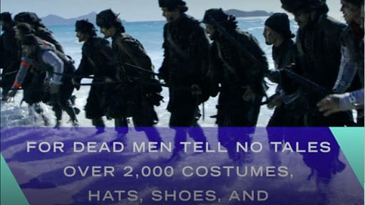Pirates of the Caribbean: Dead Men Tell No Tales Costume Facts