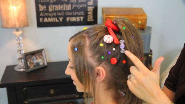 Wreck-It Ralph Hairstyle Tutorial - A CuteGirlsHairstyles Disney Exclusive
