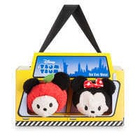 Image of Mickey and Minnie Mouse ''Tsum Tsum'' Plush New York Set - Mini 3 1/2'' # 4