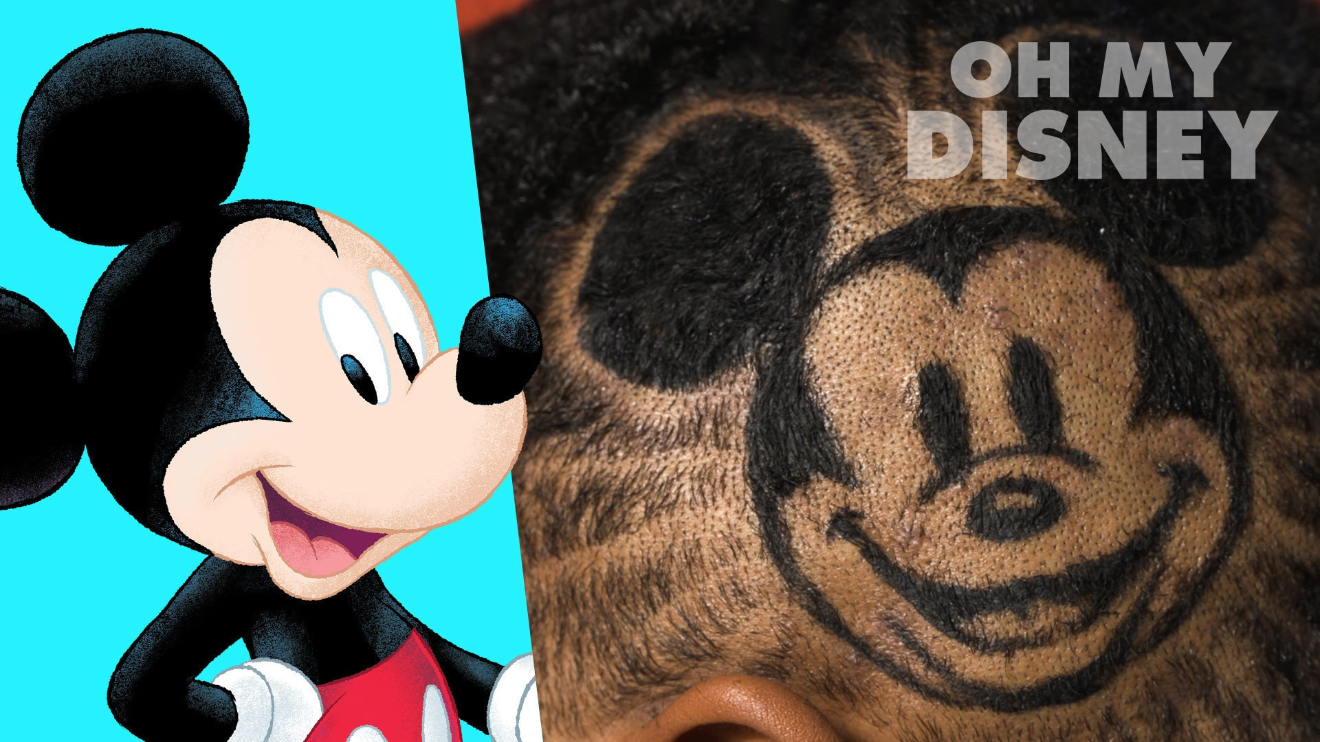 Mickey Mouse Haircut by Rob the Original | Sketchbook by Oh My Disney