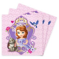 Image of Sofia the First Beverage Napkins # 1