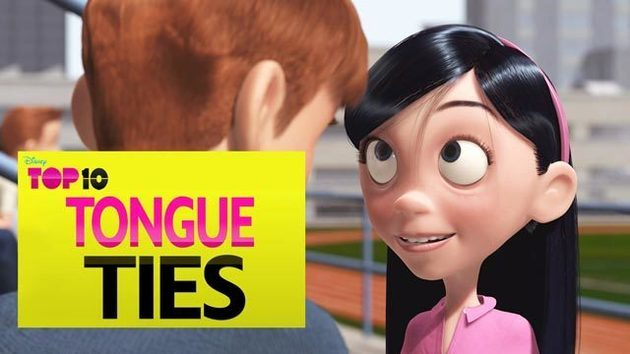 Tongue Ties - Disney Top 10