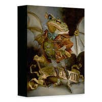 Image of ''The Insatiable Mr. Toad'' Giclée on Canvas by Heather Edwards # 1