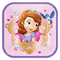 Image of Sofia the First Dessert Plates # 1