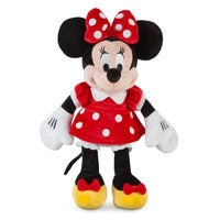 Minnie Mouse Plush - Red - Small - 12''