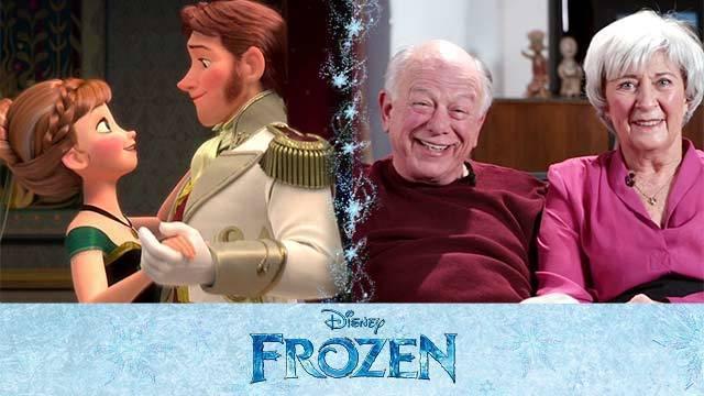 Behind The Scenes - Frozen's Love Is An Open Door | Oh My Disney
