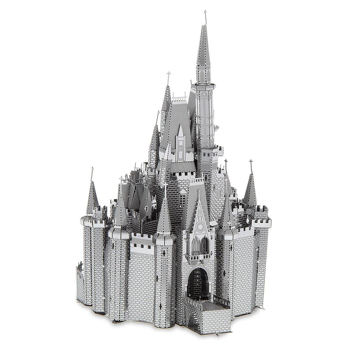 thumbnail image of cinderella castle metal earth 3d model kit 1