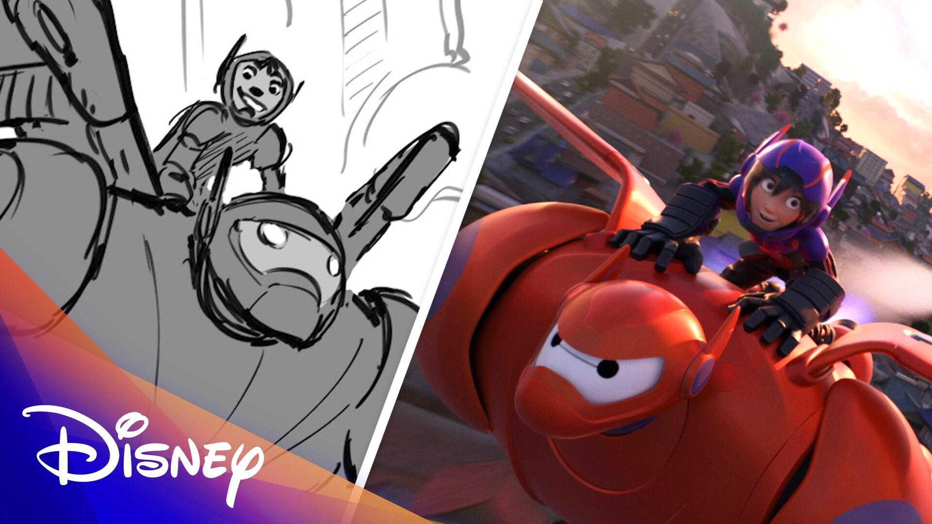 Big Hero 6 Side by Side | Disney