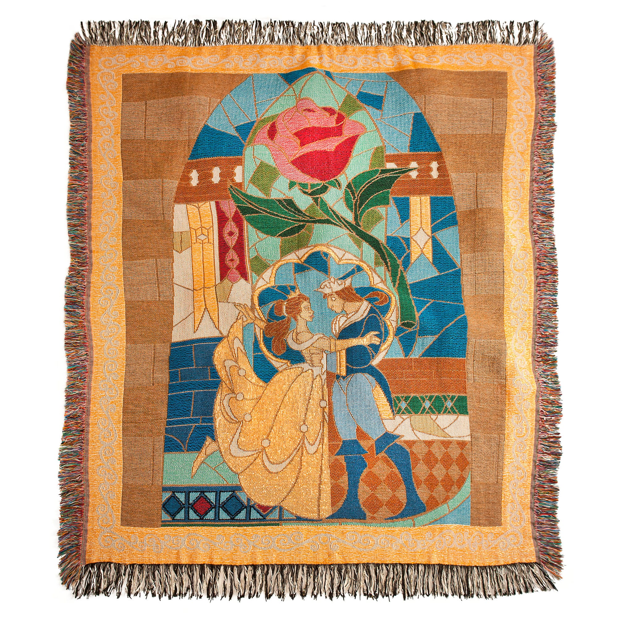 Beauty and the Beast Throw