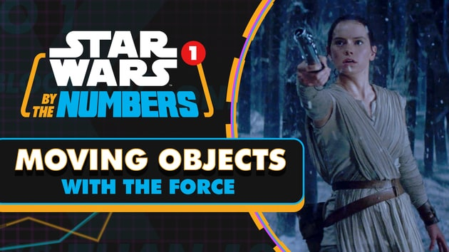 Every Time an Object is Moved by the Force in Star Wars | Star Wars By the Numbers