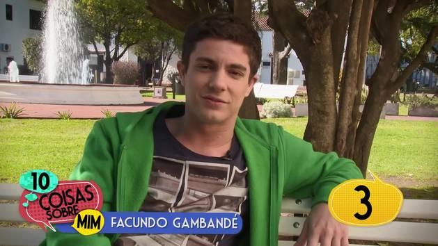 10 coisas sobre mim: Facundo Gambandé