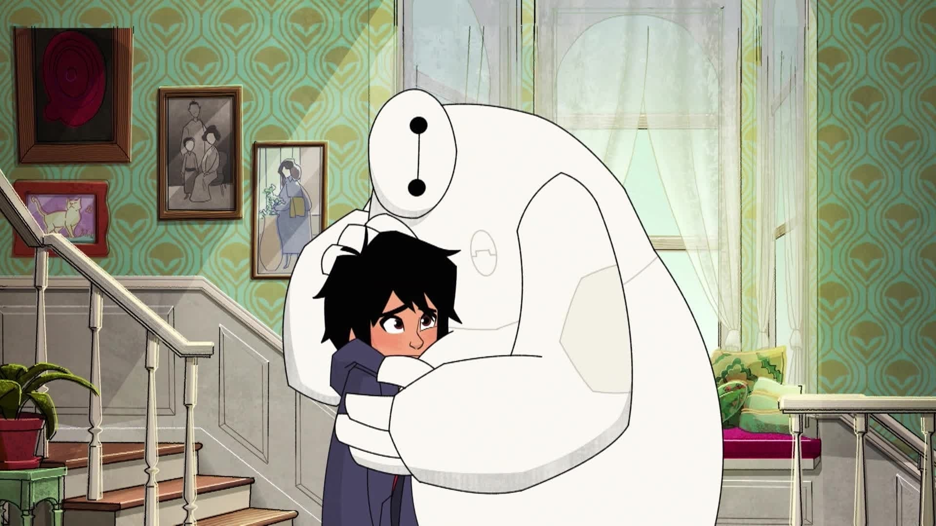 """Big Hero 6: La serie"" en Disney XD"