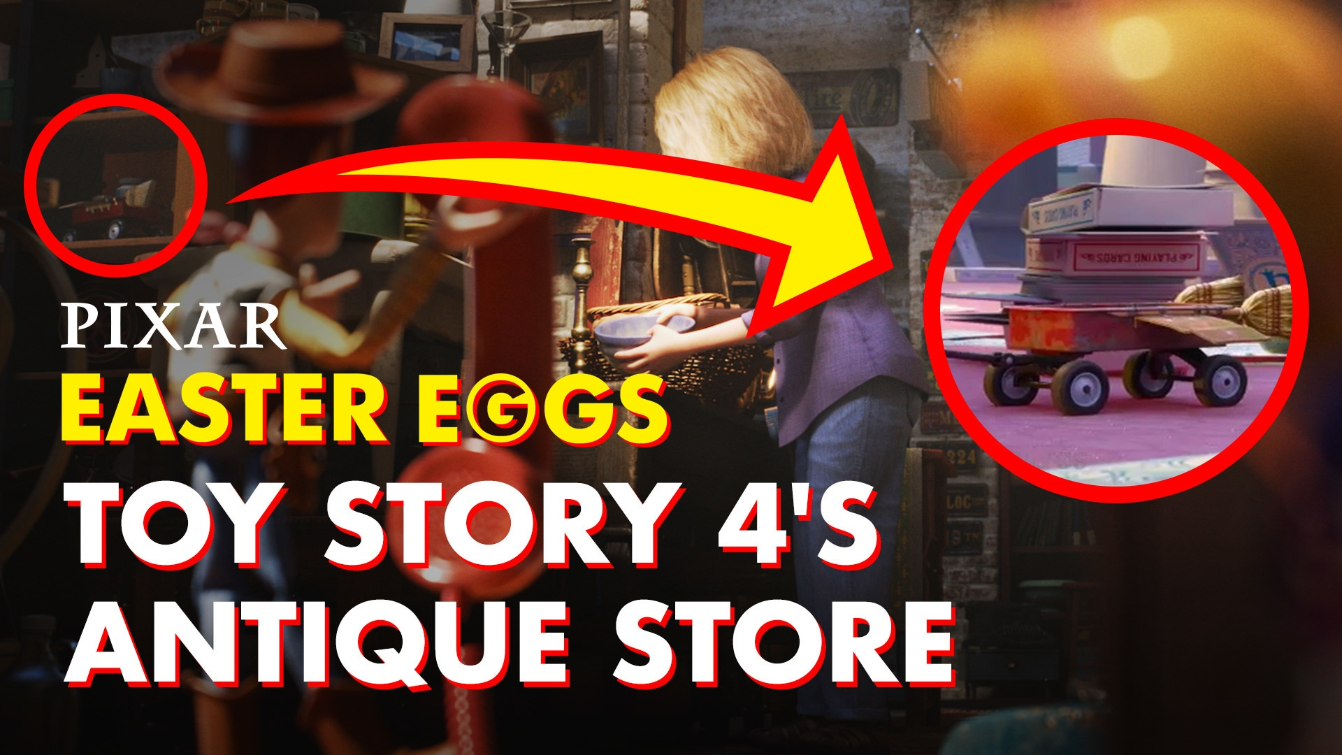 Toy Story 4 Antique Store Easter Eggs   Pixar Did You Know