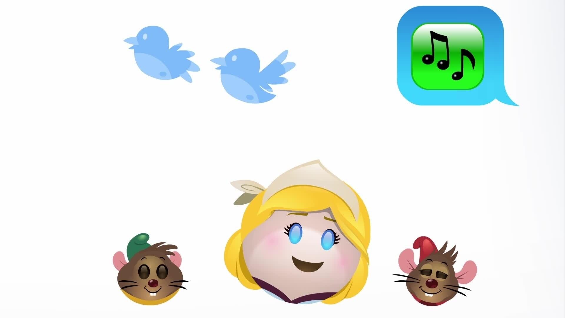 Kopciuszek w wersji emoji