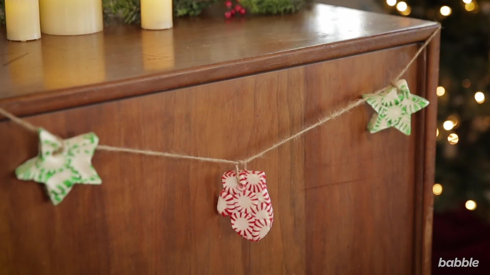 Babble: DIY Peppermint Garland