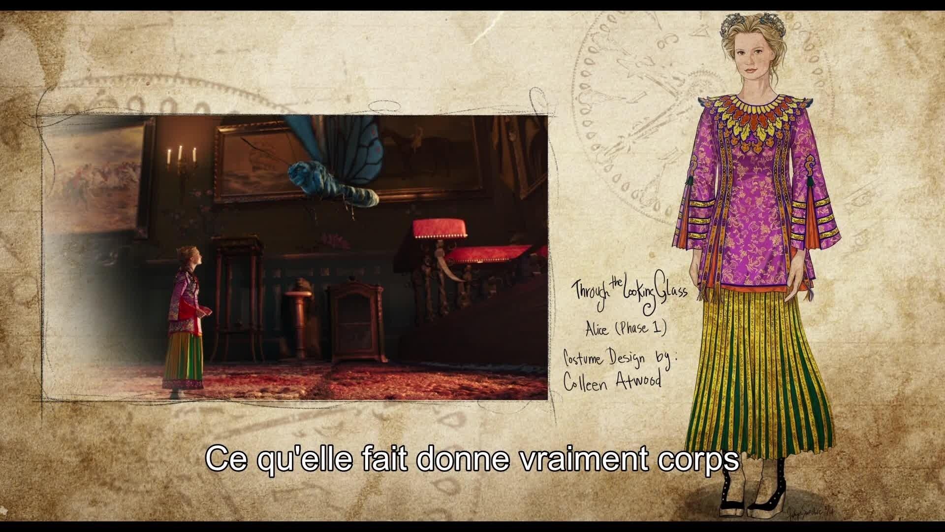 Alice de l'Autre Côté du Miroir - Reportage : Mode & Style