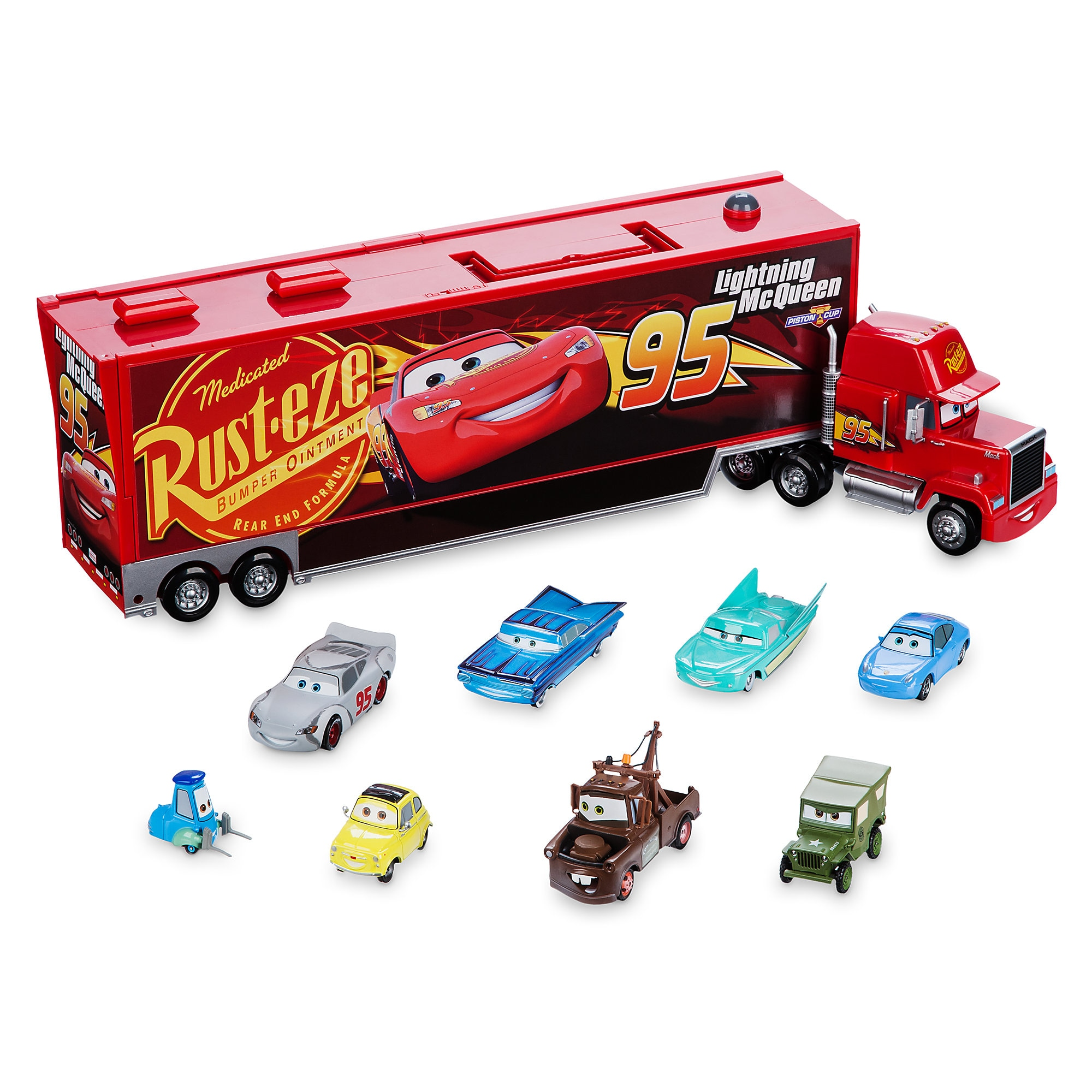 Mack Die Cast Carrier 8 Car Set Cars 3