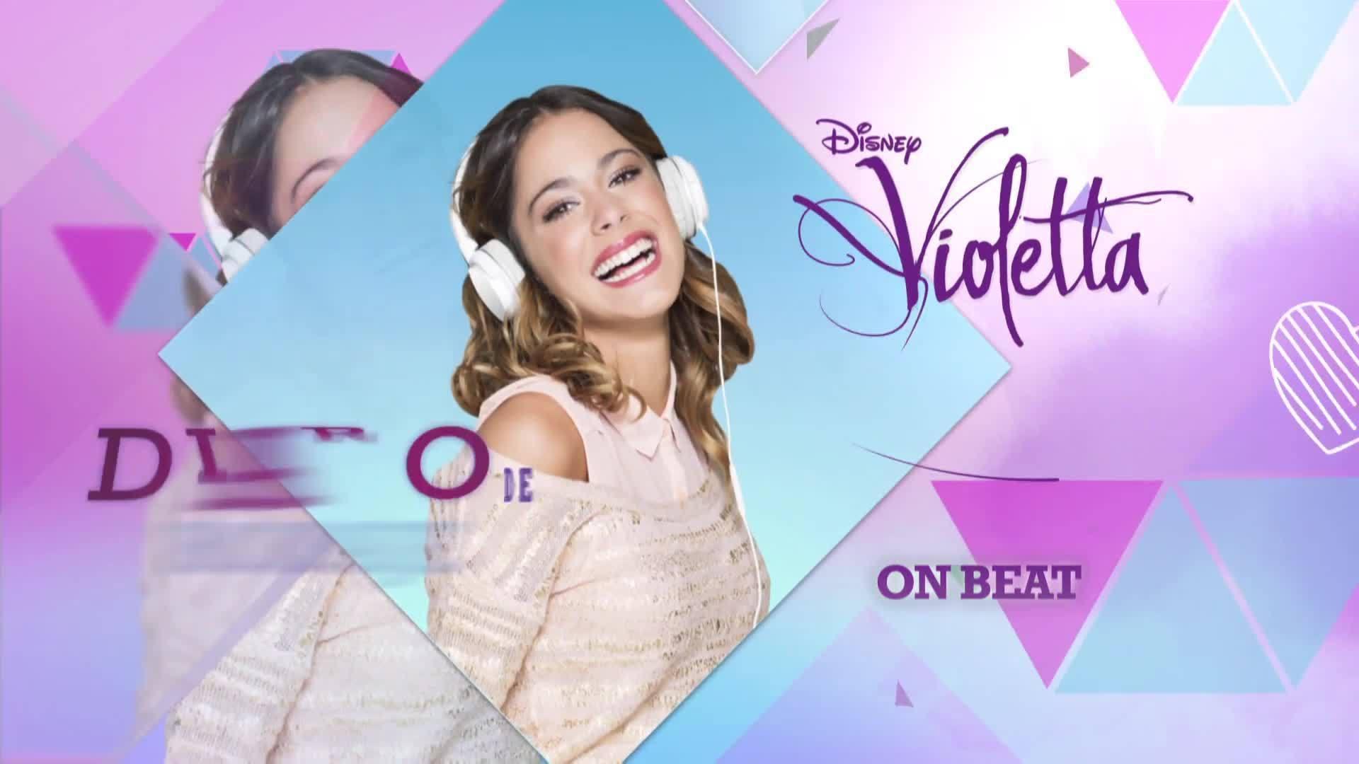 Detrás de las cámaras Violetta - Grabación videoclip On Beat