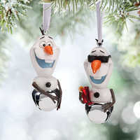 Image of Olaf Bell Ornament Set # 2