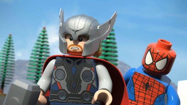 Episode 5 - Assault, Off-Asgard! - LEGO Marvel Super Heroes