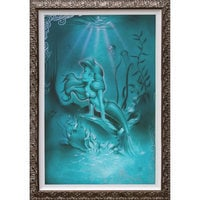 Image of Ariel ''Little Mermaid'' Giclée by Noah # 2