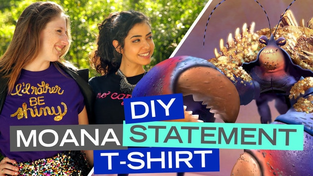 DIY Moana Statement T-Shirt
