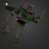 Image of Buzz Lightyear Talking Action Figure # 9
