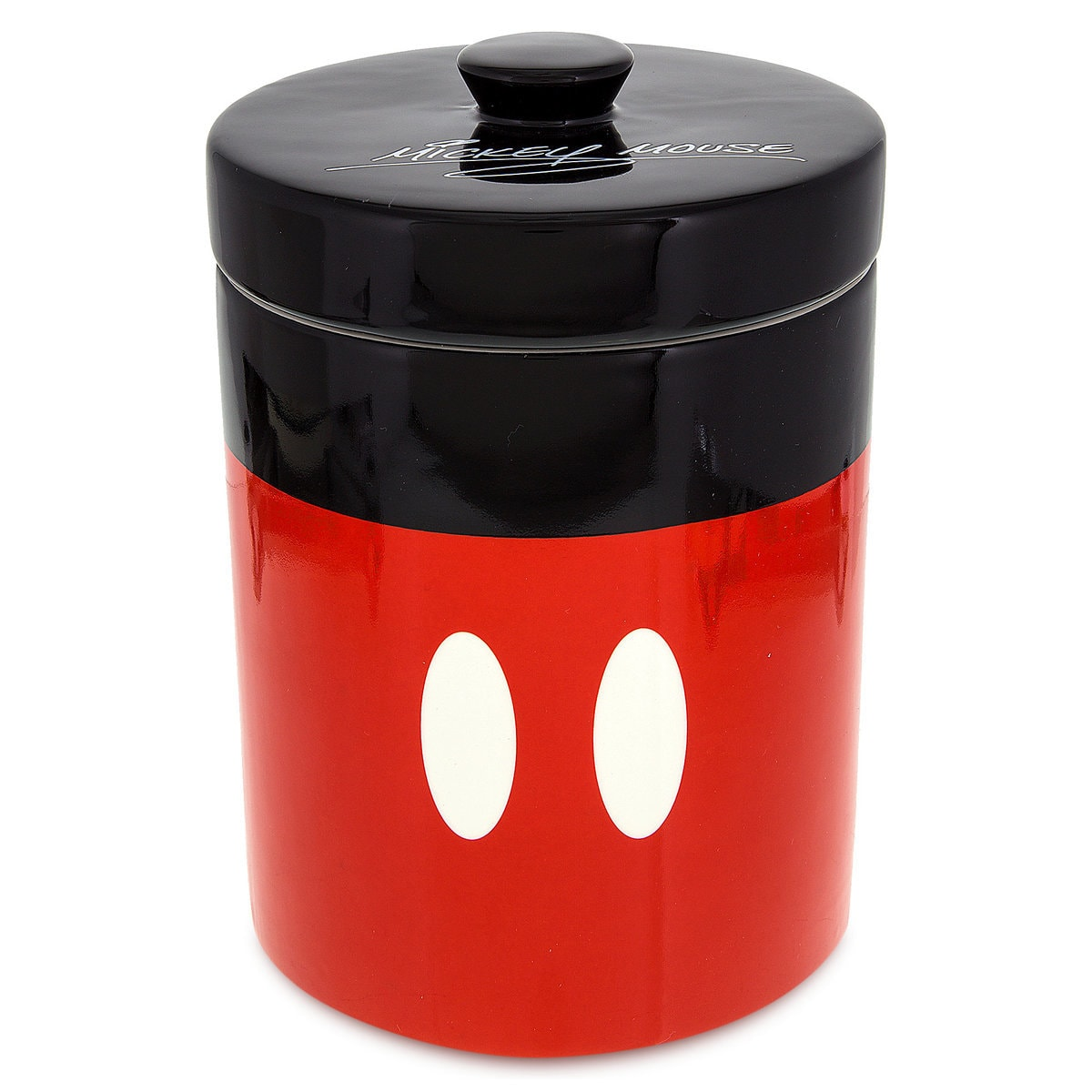 mickey mouse colorful kitchen canister shopdisney