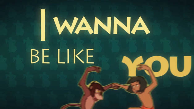 I Wanna Be Like You - The Jungle Book Bear-e-oke