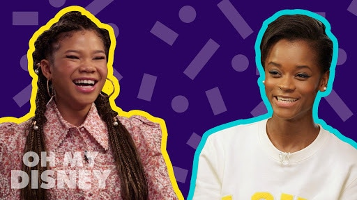 Letitia Wright and Storm Reid Interview Each Other | The Oh My Disney Show by Oh My Disney