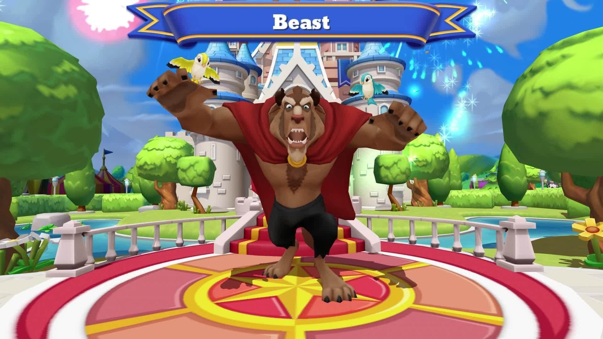 Disney Magic Kingdoms Beauty and the Beast Update