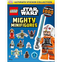 Image of Star Wars LEGO Mighty Minifigures Ultimate Sticker Collection Book # 1