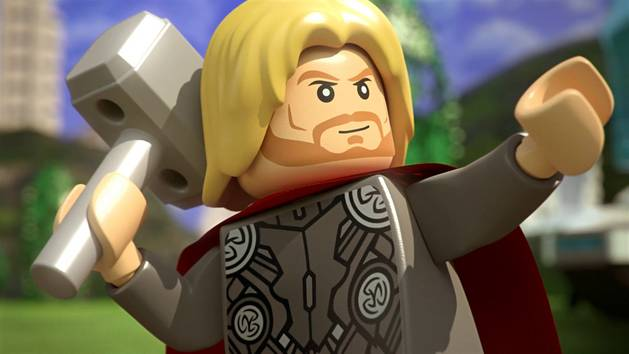 Marvel Super Heroes Animated Short from LEGO