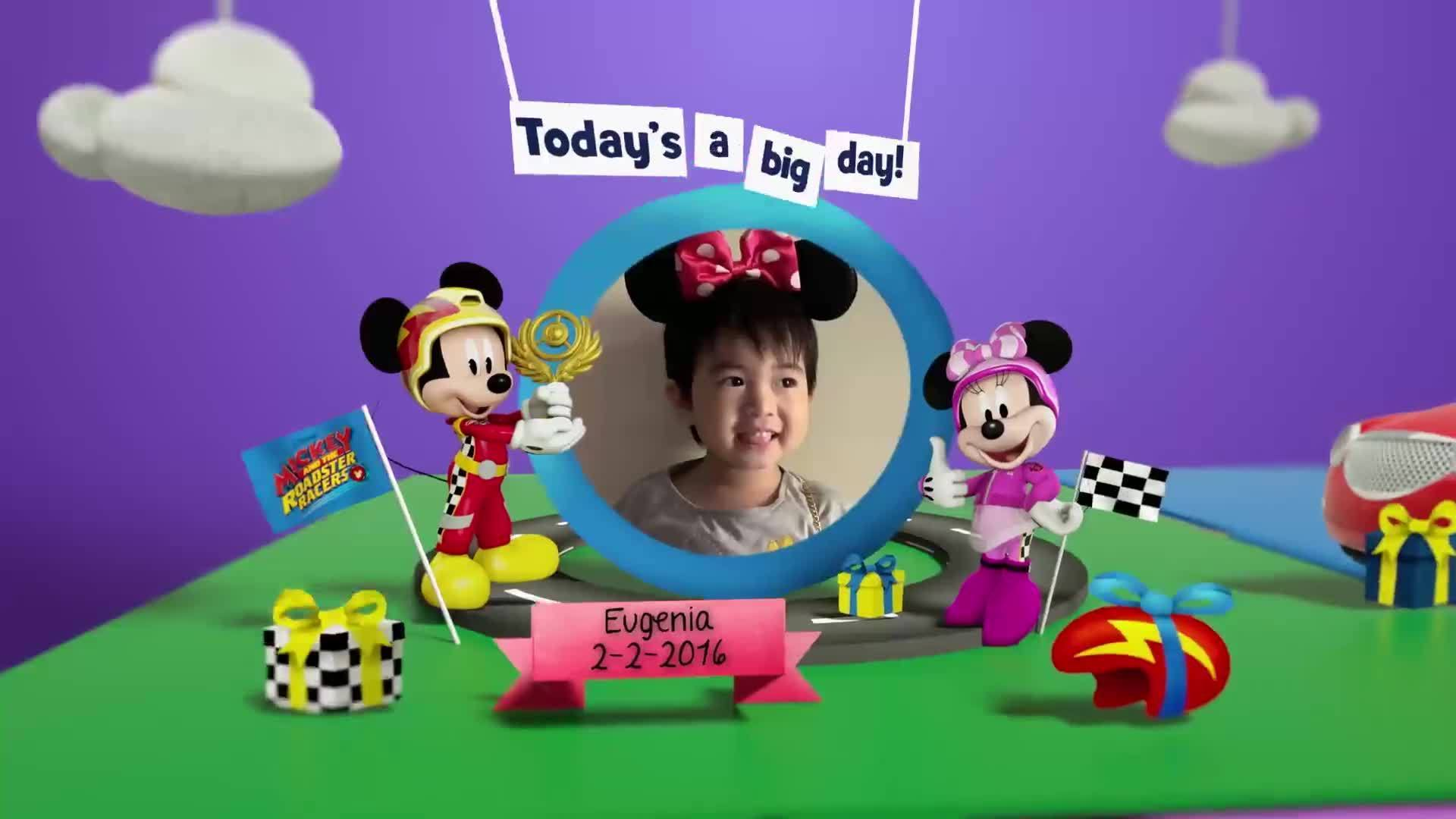 Disney Junior Birthday Book 2020 February Album 3
